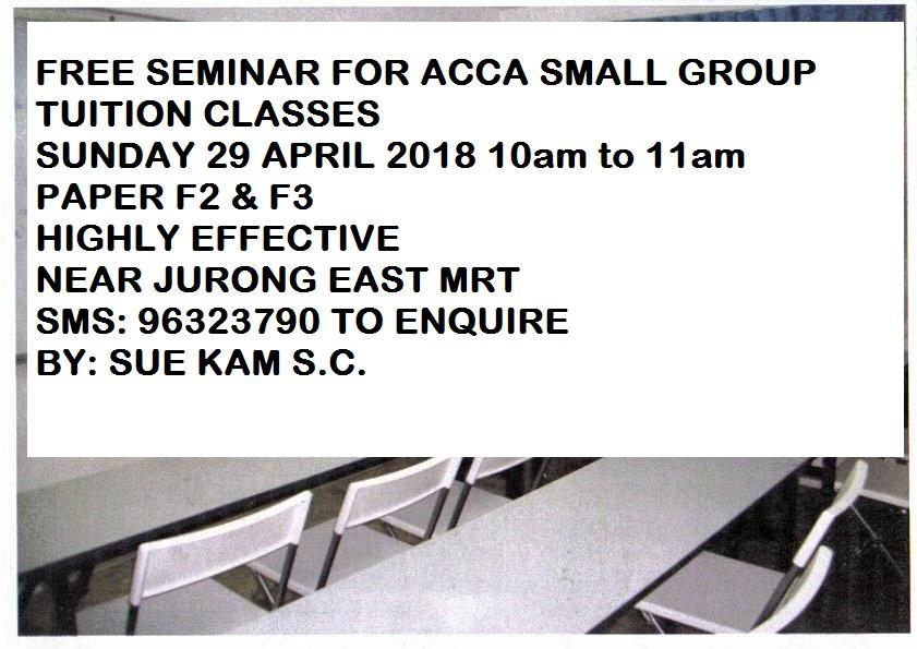 Free ACCA Seminar